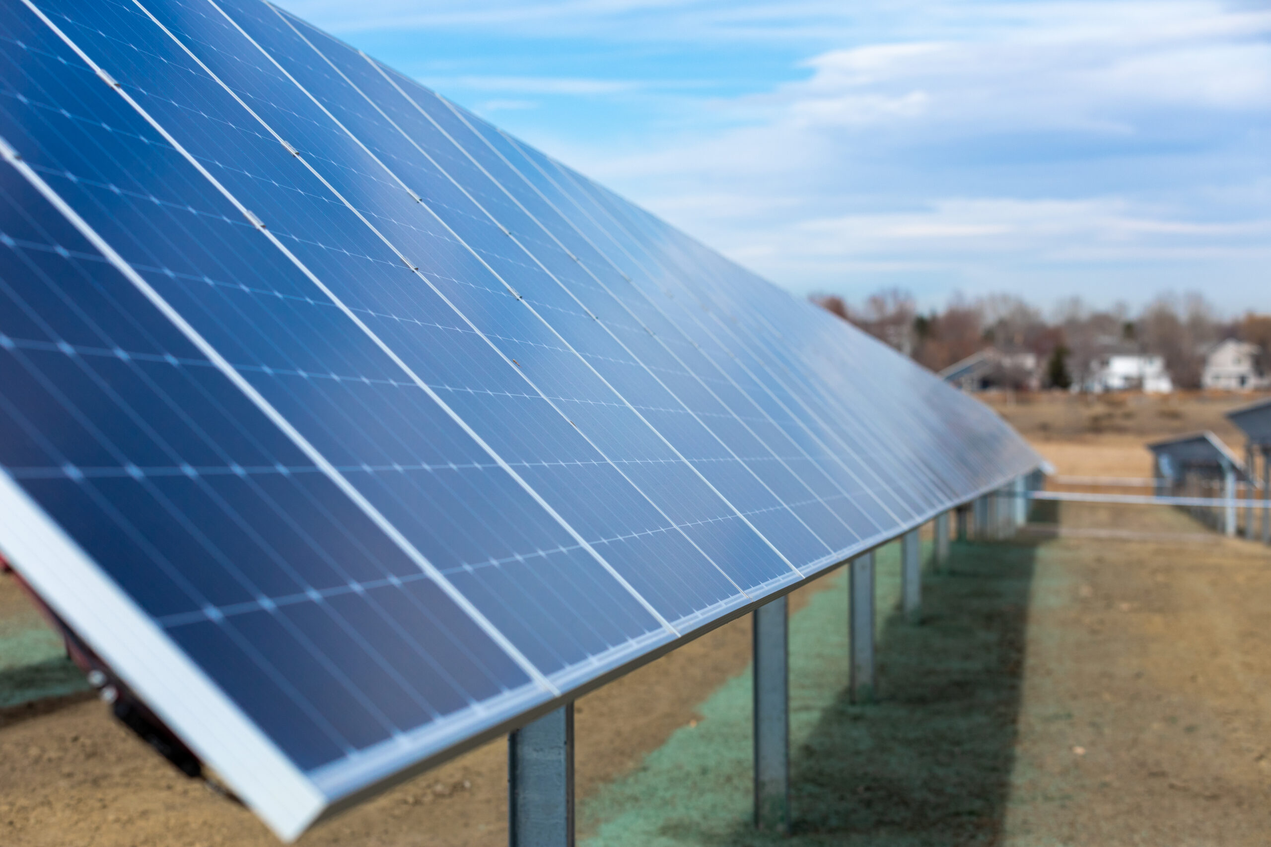 ground-mounted commercial solar fort collins colorado